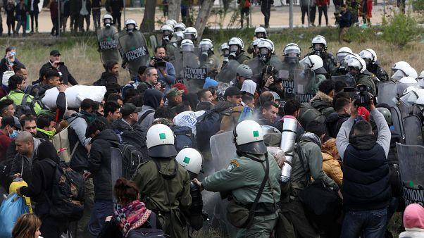 Διαβατά: Συλλήψεις 71 αλλοδαπών για παράνομη διαμονή στη χώρα