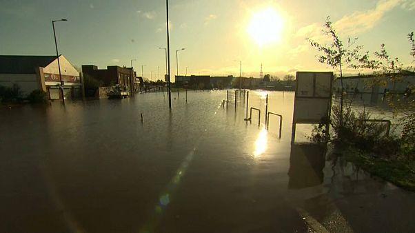 Британцы страдают от наводнений