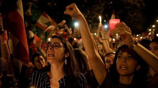 گلچین ویدئوهای هفته؛ از تظاهرات در لبنان تا اعتراضات در عراق و بولیوی