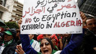 جمعة الحراك في الجزائر الـ 38