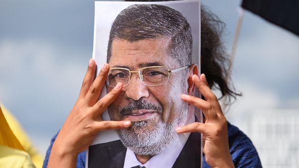 صورة للرئيس المصري السابق والراحل محمد مرسي