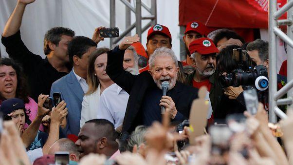 Лула да Силва вышел из тюрьмы