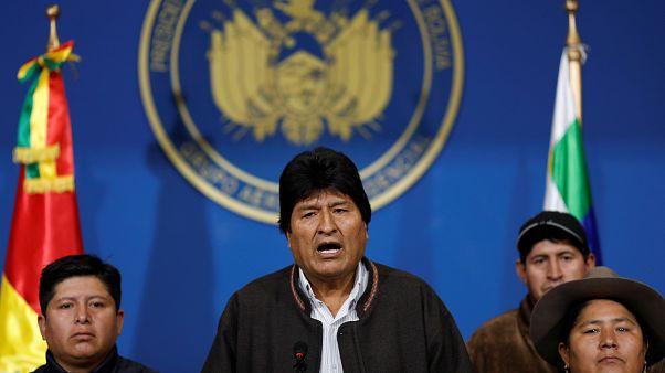 Bolivia: Morales annuncia le dimissioni - ha lasciato La Paz