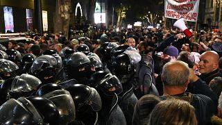 """Gürcistan'da """"Ve Sonra Dans Ettik"""" filmi protesto edildi"""
