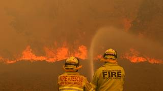 Australian fire authorities issue 'catastrophic warning' for first time in Sydney