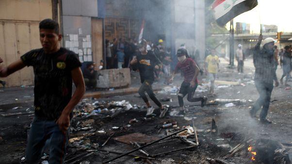 Dutzende Verletzte Demonstranten im Irak