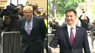 Boris Johnson and Jeremy Hunt in final race to be Tory leader and PM