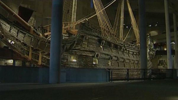 فيديو: العثور على حطام سفينة سويدية يعتقد أن عمرها يزيد عن 400 عام