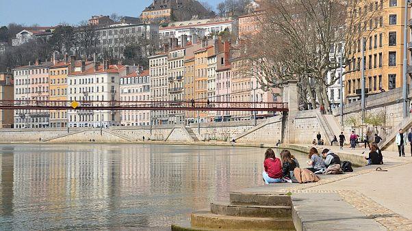 Fransa'nın Lyon kenti