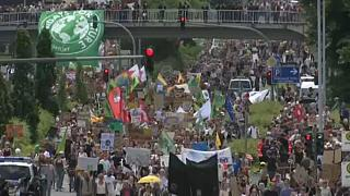 Fridays for Future climate protesters in Aachen call for action now