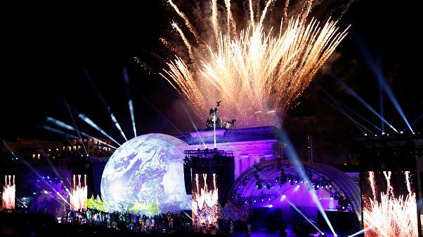 Beethoven, Westbam und Feuerwerk: Berlin feiert 30 Jahre Mauerfall