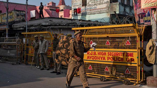 بازداشت دهها نفر در پی اعلام رای دیوان عالی هند در پرونده مسجد بابری