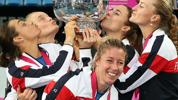 Tennis: la Francia vince la Fed Cup, 3-2 all'Australia