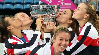 França vence Fed Cup