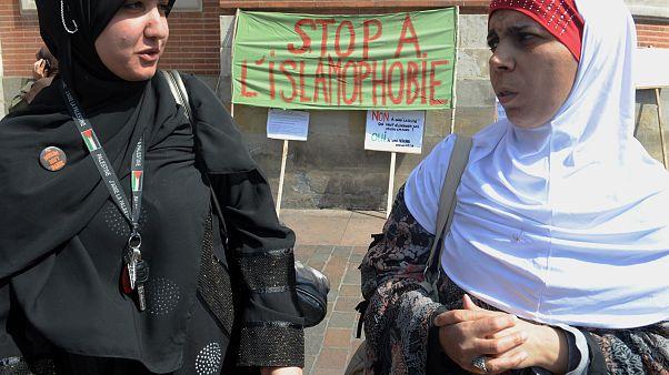 من مسيرة ضد رهاب الإسلام في تولوز الفرنسية (أرشيف)