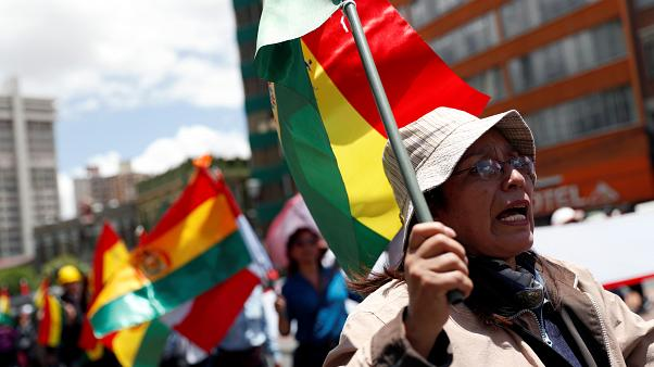 Bolivian President Evo Morales resigns after disputed election