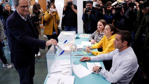 Elecciones en España | El voto catalán, clave y sin incidentes