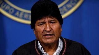 Βολιβία: Την παραίτησή του ανακοίνωσε ο Έβο Μοράλες