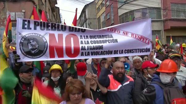 Президент Боливии: выборы будут, отставка - нет