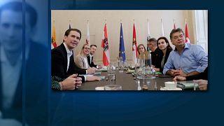 Kurz und Kogler knapp vor Koalitionsverhandlungen