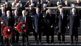 A háborúk áldozataira emlékeztek Londonban