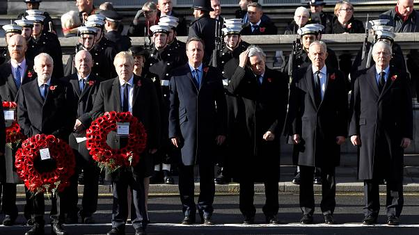 Remembrance Sunday: reali e politici britannici commemorano i caduti