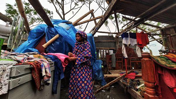 طوفان «بلبل» جان ۲۰ نفر را در هند و بنگلادش گرفت