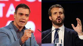 Eleições espanholas: Mais de 80% dos votos contados dão vitória a PSOE e subida da direita