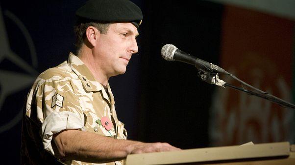 الجنرال نيك كارتر في أفغانستان في العام 2009