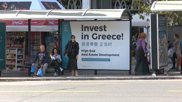 O peso da China na economia grega