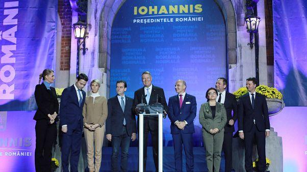 Iohannis et Dancila au second tour de la présidentielle en Roumanie