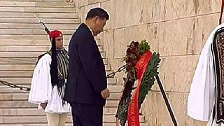 Xi Jinping visita Grécia