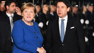 Conte e Merkel vicini su unione bancaria e gestione migranti
