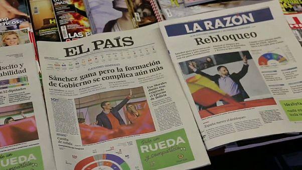 """""""Unerträglich ermüdend"""": Ernüchterung nach Parlamentswahl in Spanien"""