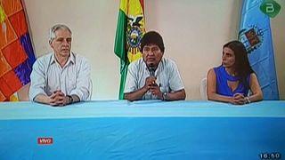 Evo Morales acepta la oferta de asilo ofrecida por México