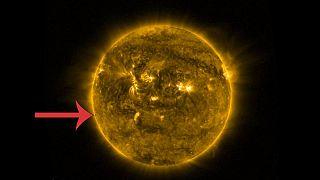 Így haladt el a Merkúr a Nap előtt