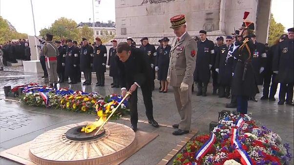 20 Millionen Tote: Regierungen gedenken der Opfer des Ersten Weltkrieges