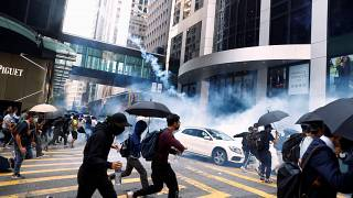 Hong Kong has been rocked by violent confrontations between democracy activists and police