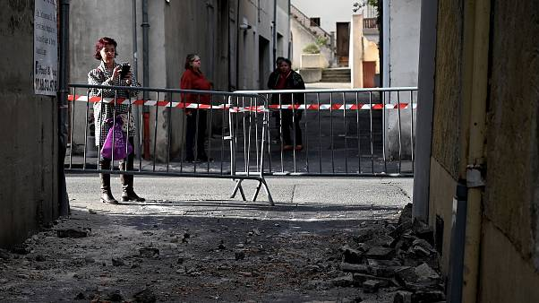 Four injured as unusually strong earthquake hits France