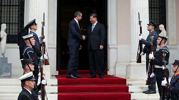 چین توسعه بزرگترین بندر یونان را بر عهده گرفت