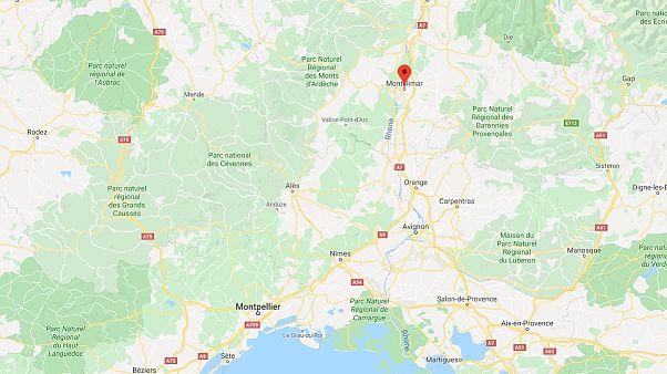 Ein Erdbeben der Stärke 5,4 wurde am Montagmittag nahe Montelimar gemessen