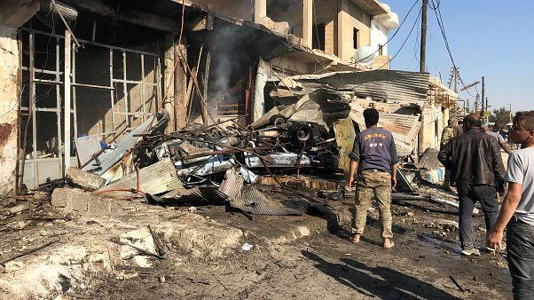 مقتل ستة مدنيين جراء ثلاثة تفجيرات في مدينة القامشلي شمال شرق سوريا