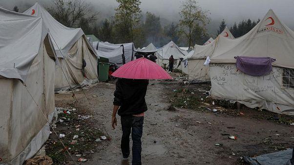 Unter den Migranten in Bosnien sind viele Familien mit Kindern