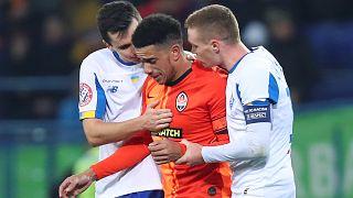Rasszista botrány az ukrán fociban