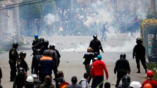Folytatódó zavargások Bolíviában