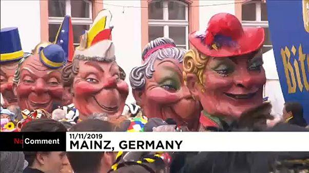 شاهد: بداية العد التنازلي لموسم الكرنفال في ألمانيا