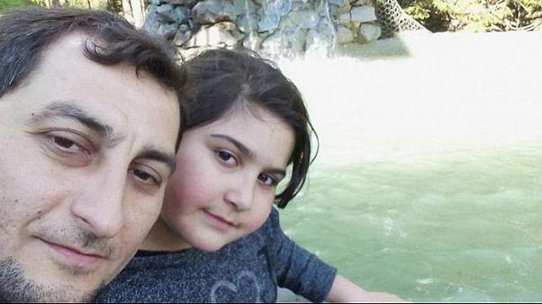Şaban Vatan ve kızı Rabia Naz Vatan