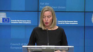 AB temsilcisi Federica Mogherini