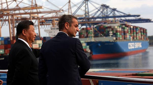 Visita in Grecia del presidente cinese Xi Jingping