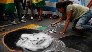 Mexikóba menekült a lemondott bolíviai elnök